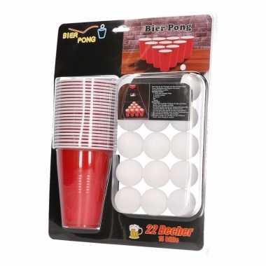 Beer pong set 37 delig