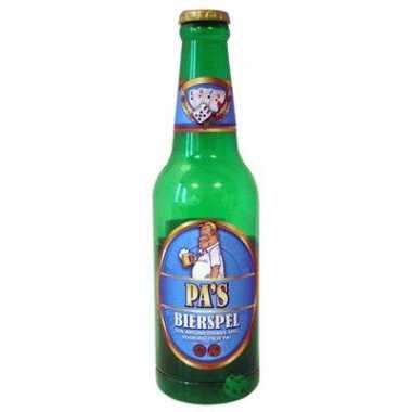 Bierspel pa in bierfles