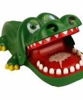 Bijtende krokodil drankspelletje
