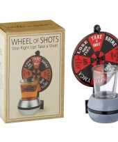 Drankspel drinkspel rad van shotjes 15 cm